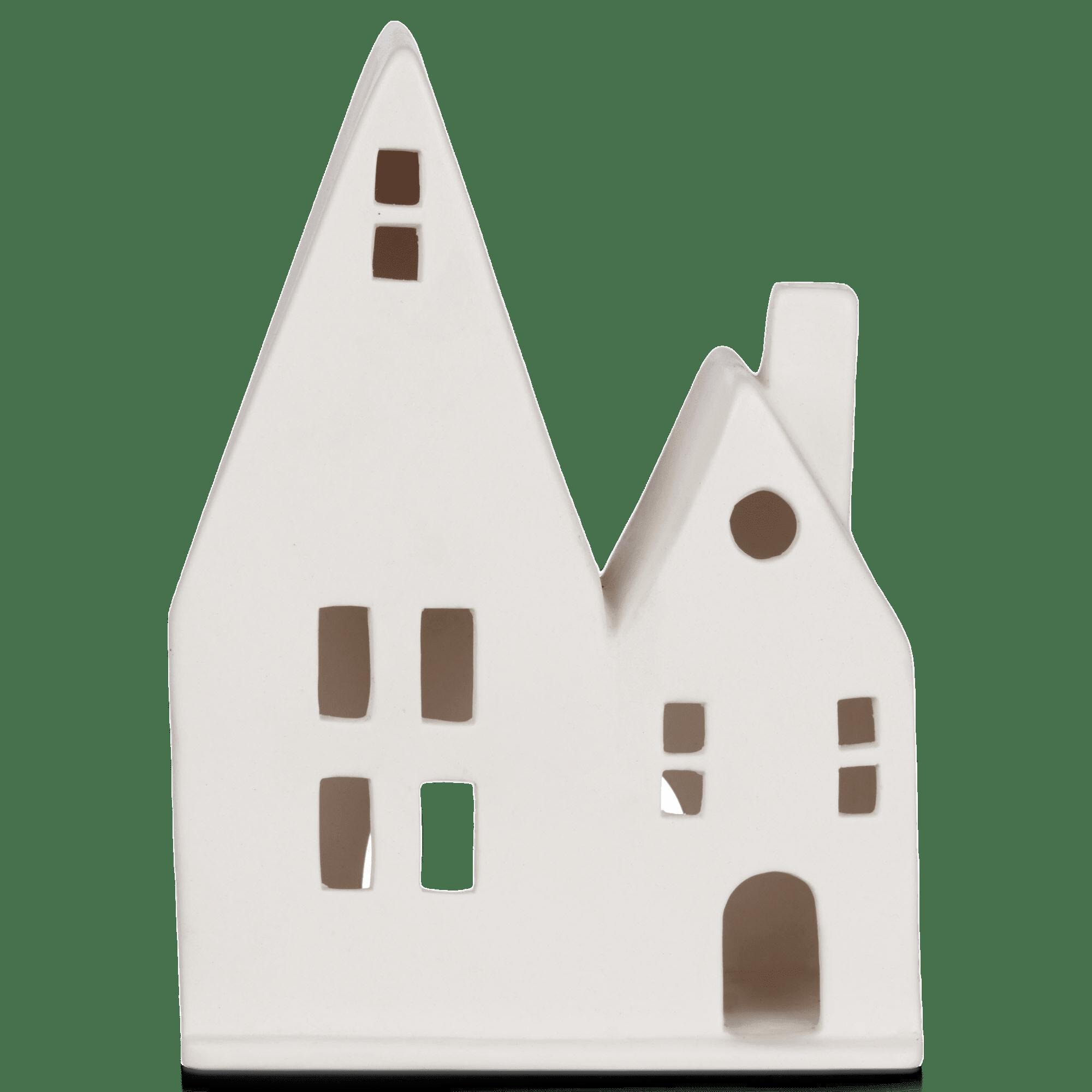 Maisons en céramique décorative