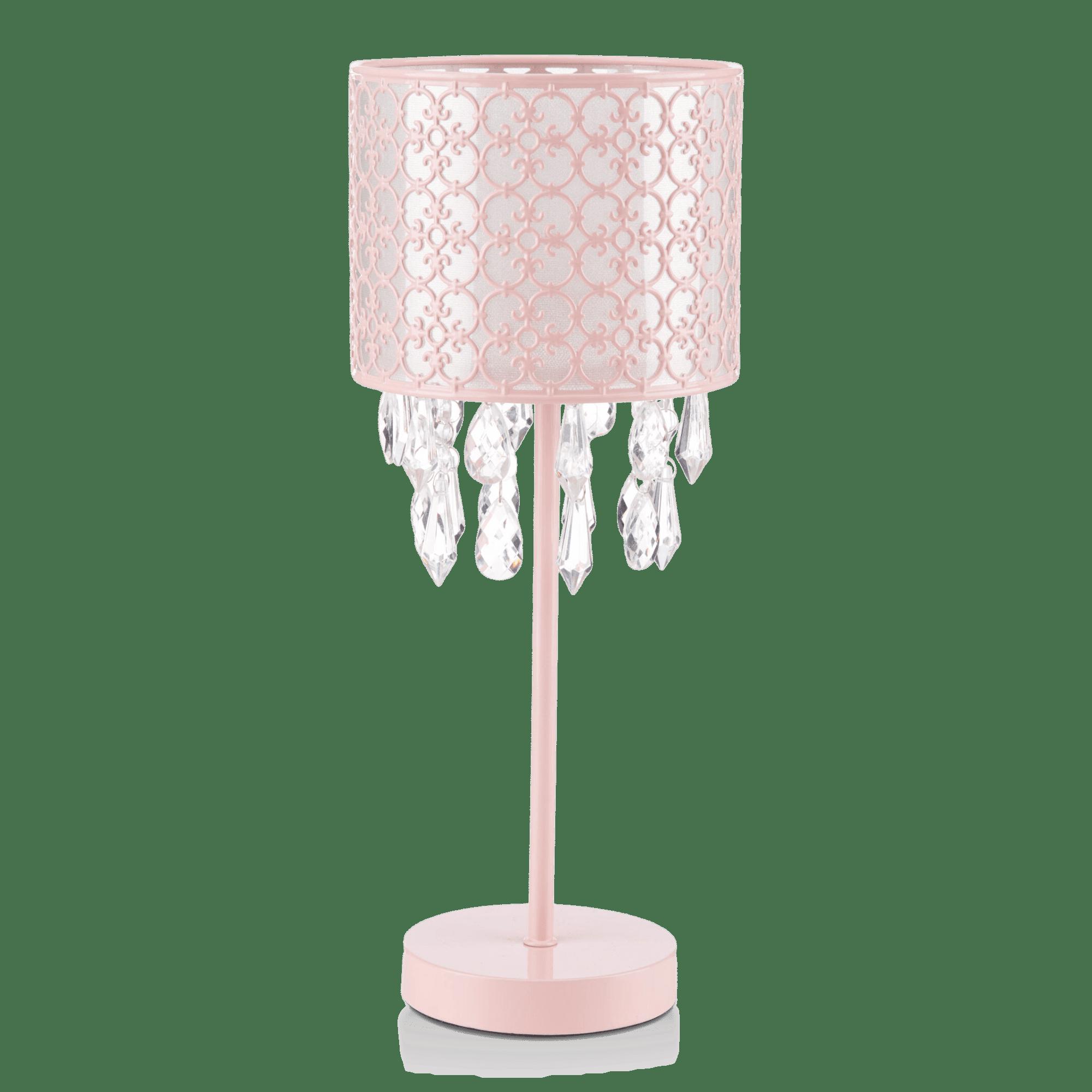 Lampe de table baroque avec gouttelettes décoratives