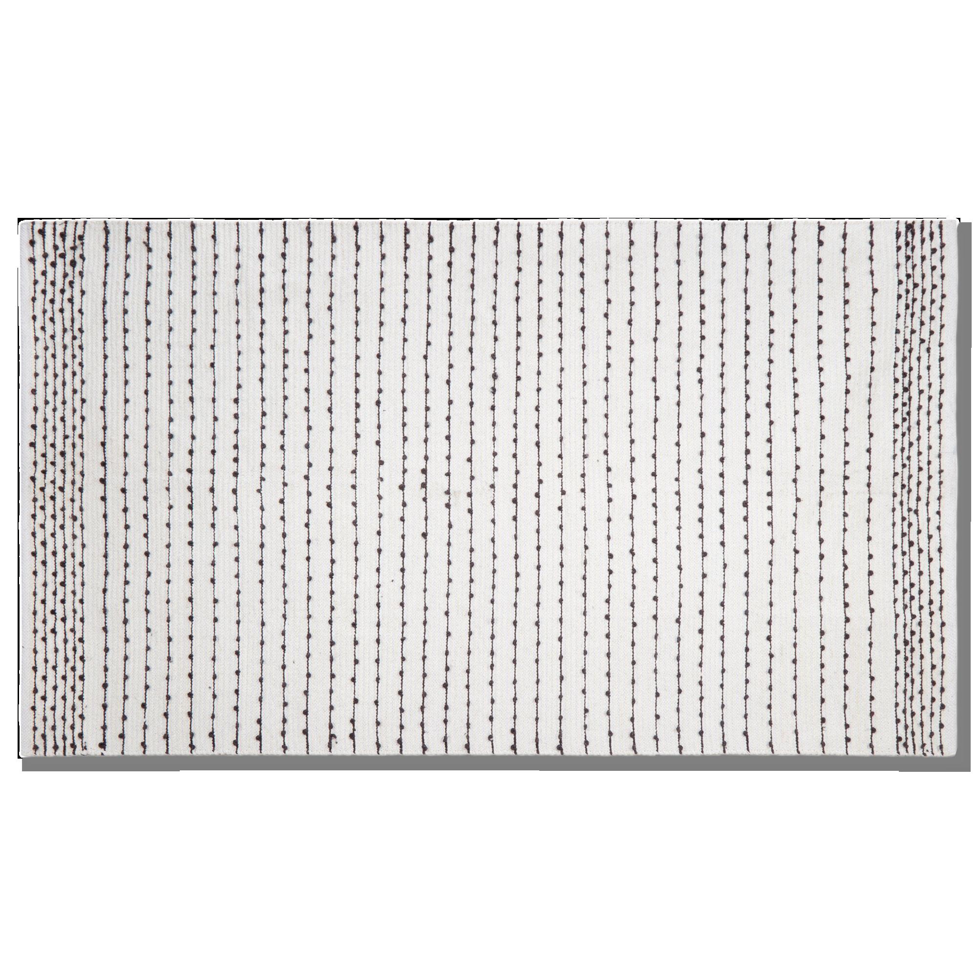 Striped Cotton Rug