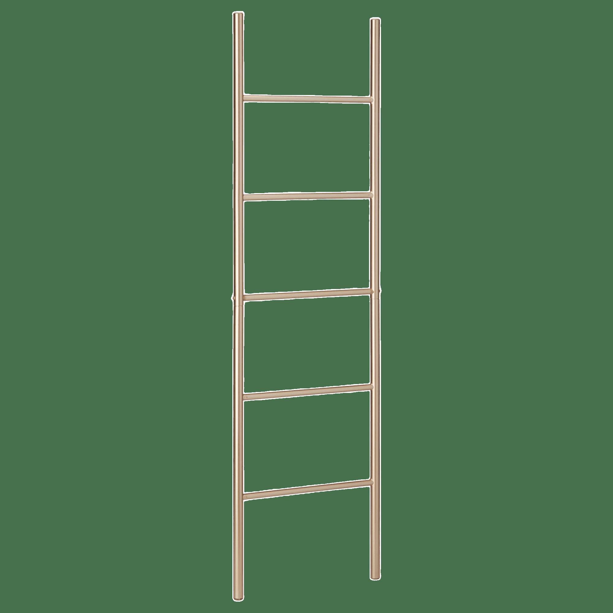 Gold Metal Ladder Towel Holder