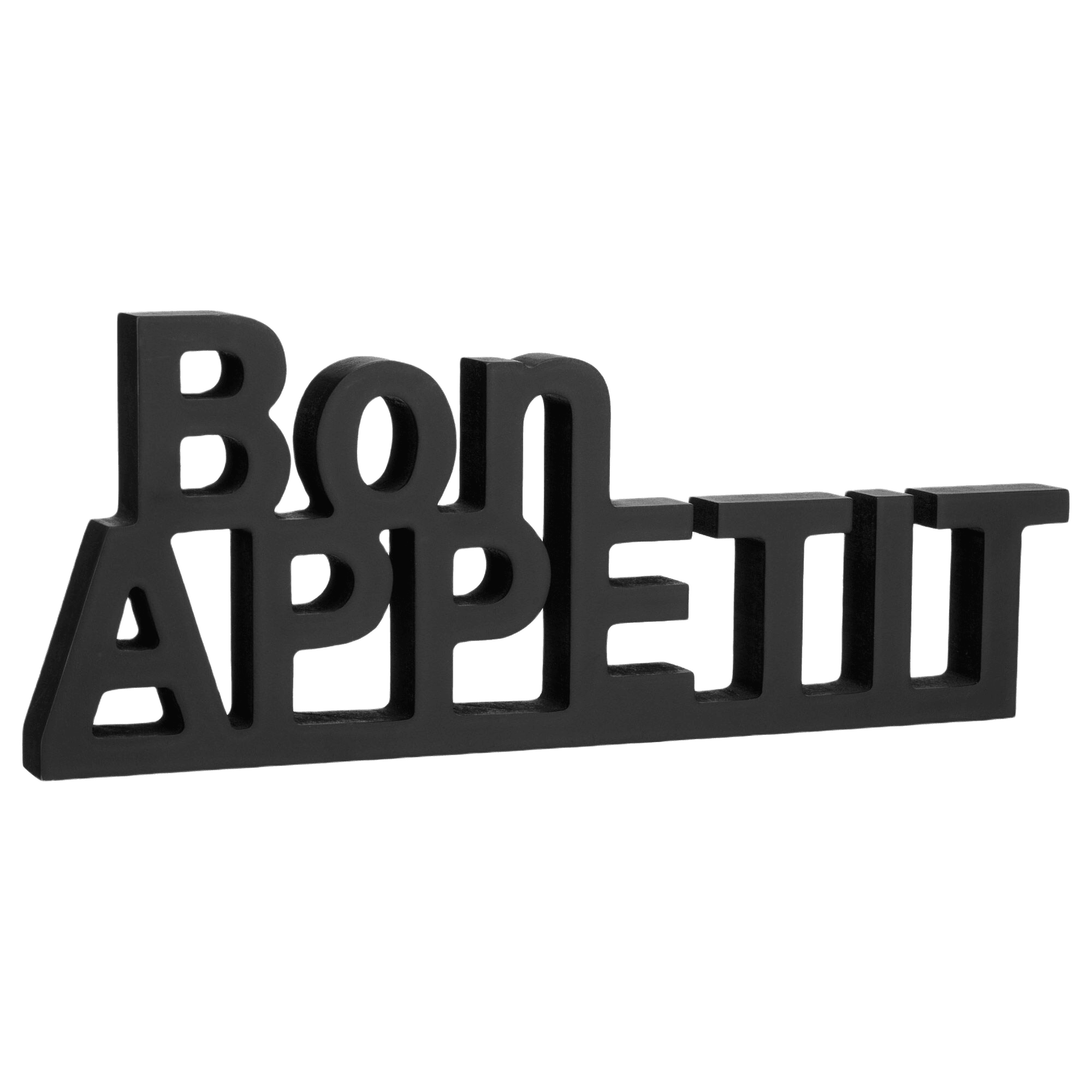Decorative Words Bon Appetit 36 x 14.25 cm.