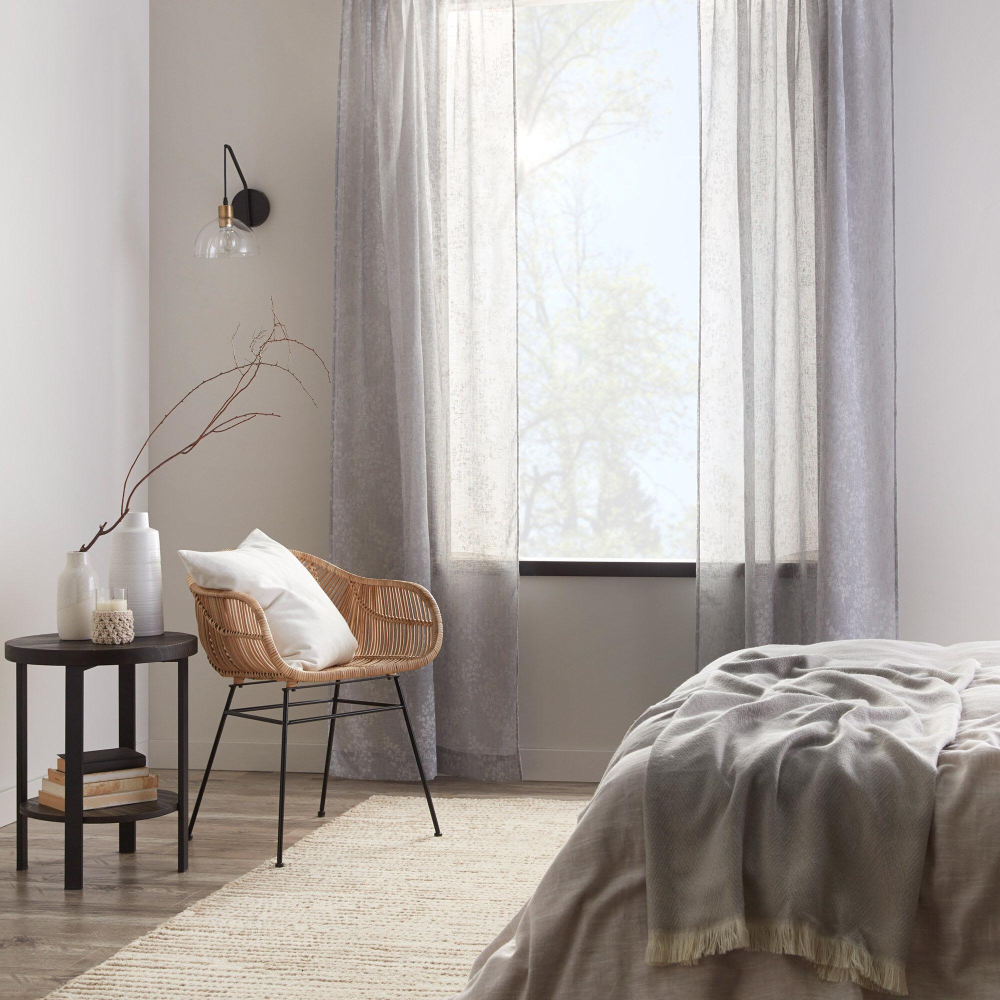 Flora Sheer Curtain