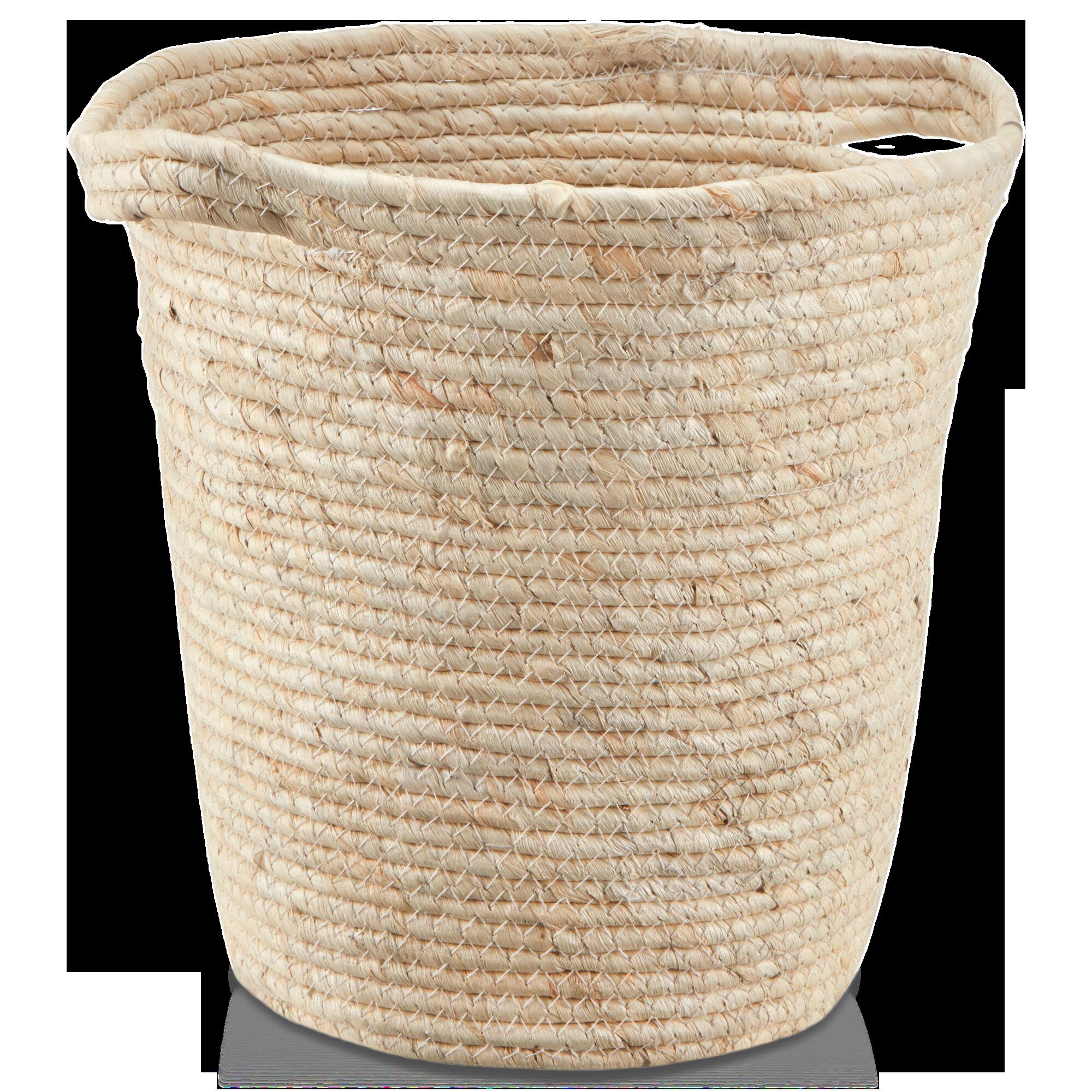 Panier de rangement en fibre de maïs