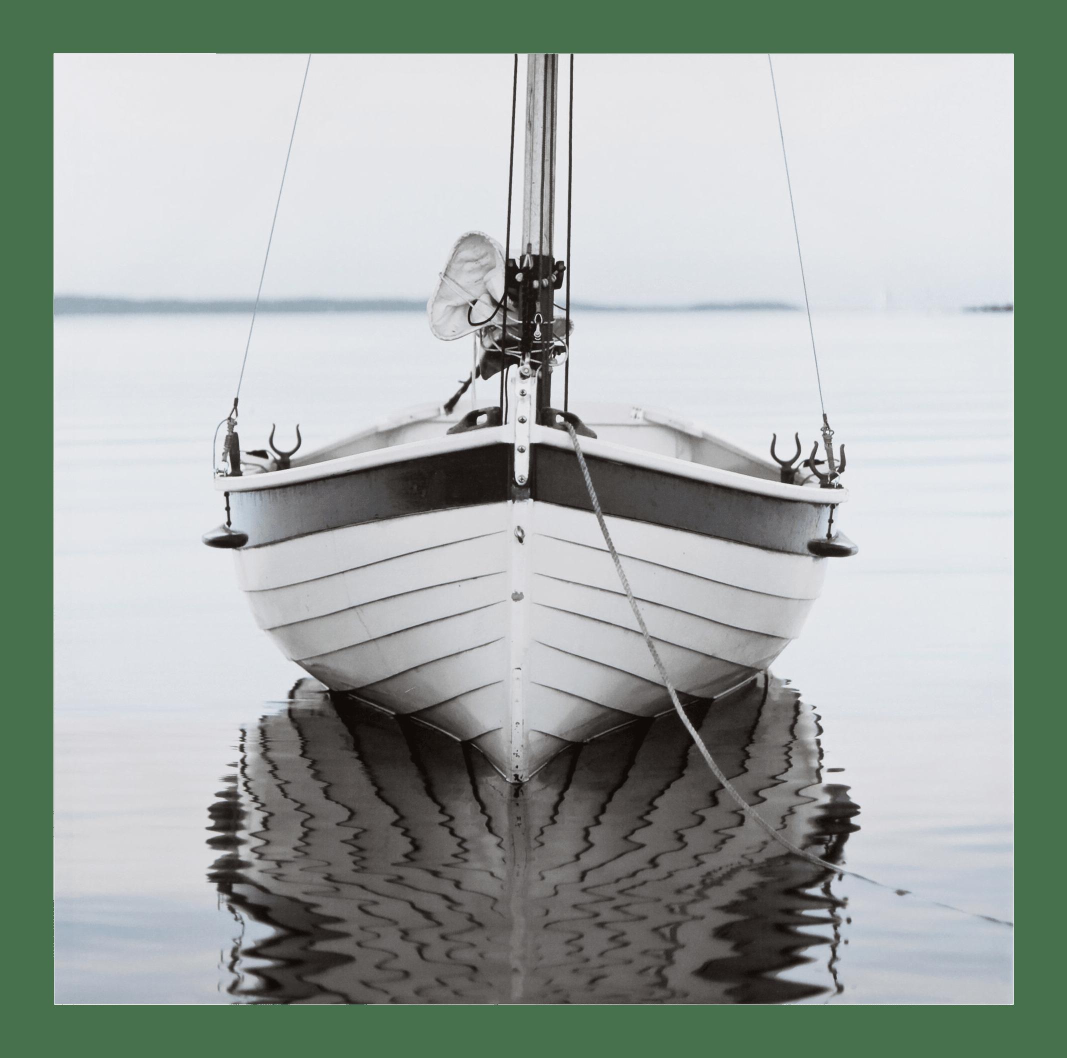Boat Close-Up Printed Canvas