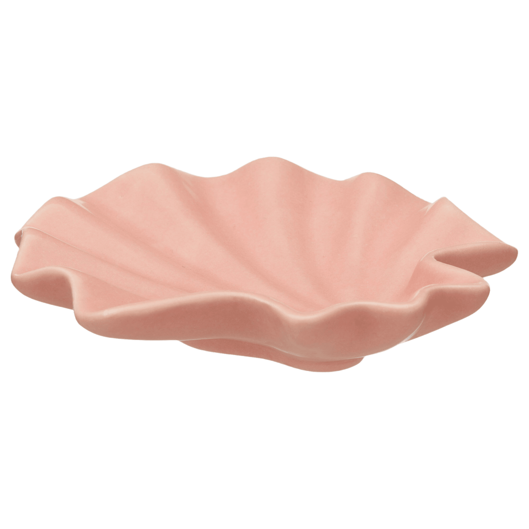 Pink Seashell Jewelry Dish