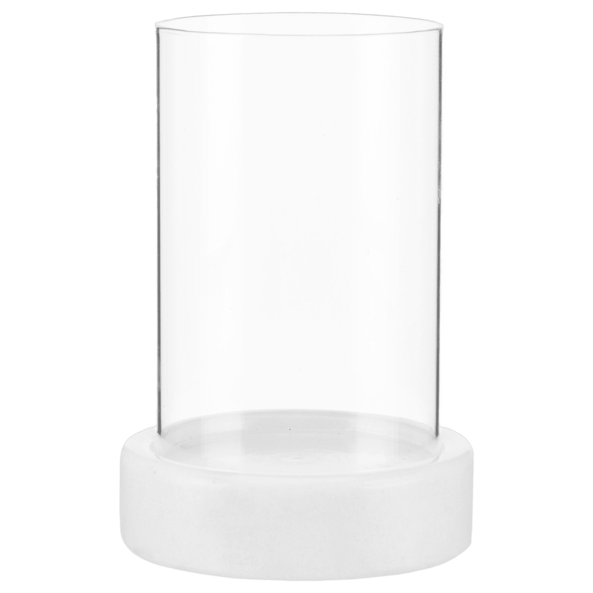 Glass and Marble Candle Holder