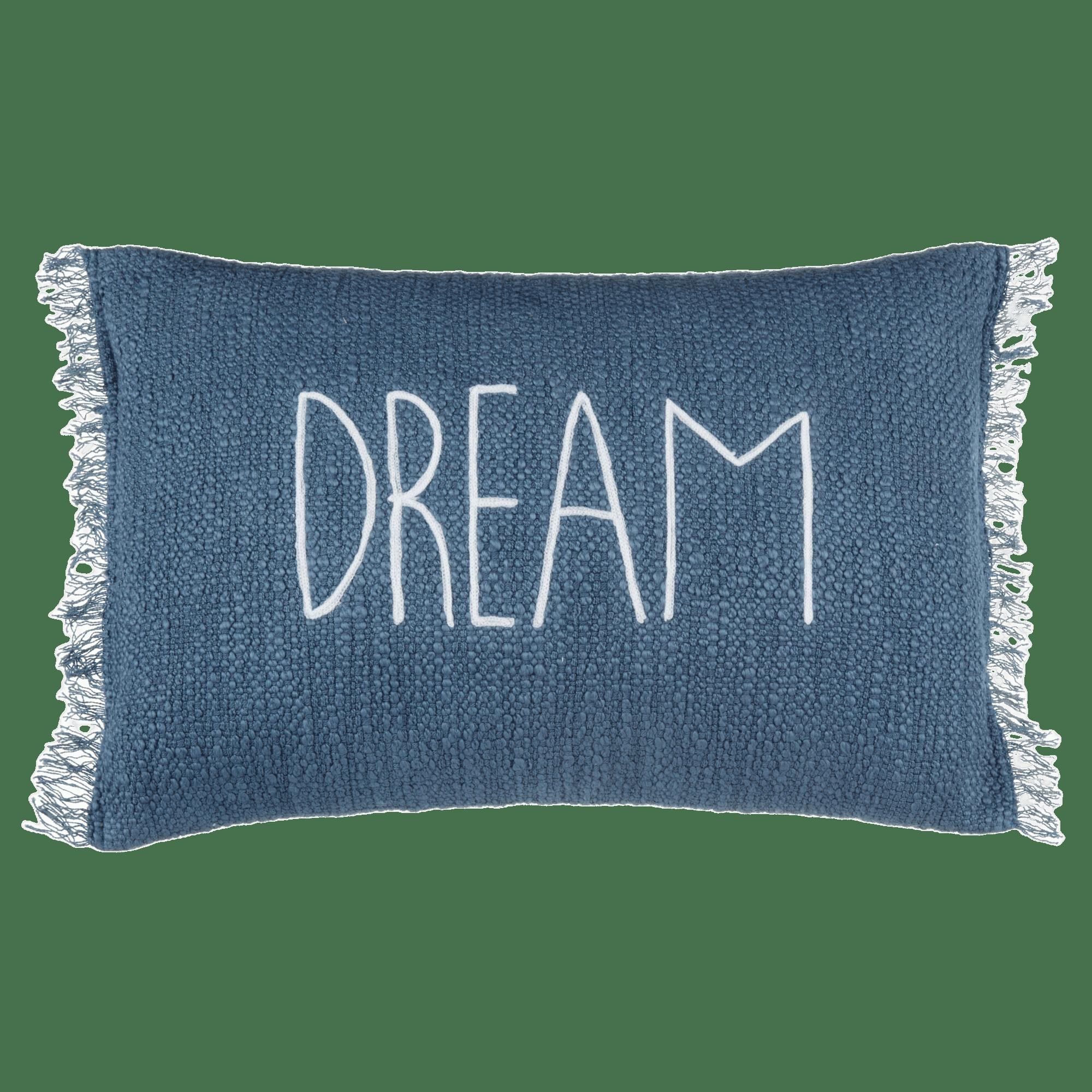 """Coussin lombaire décoratif """"Dream"""" Meghan 13"""" x 20"""""""