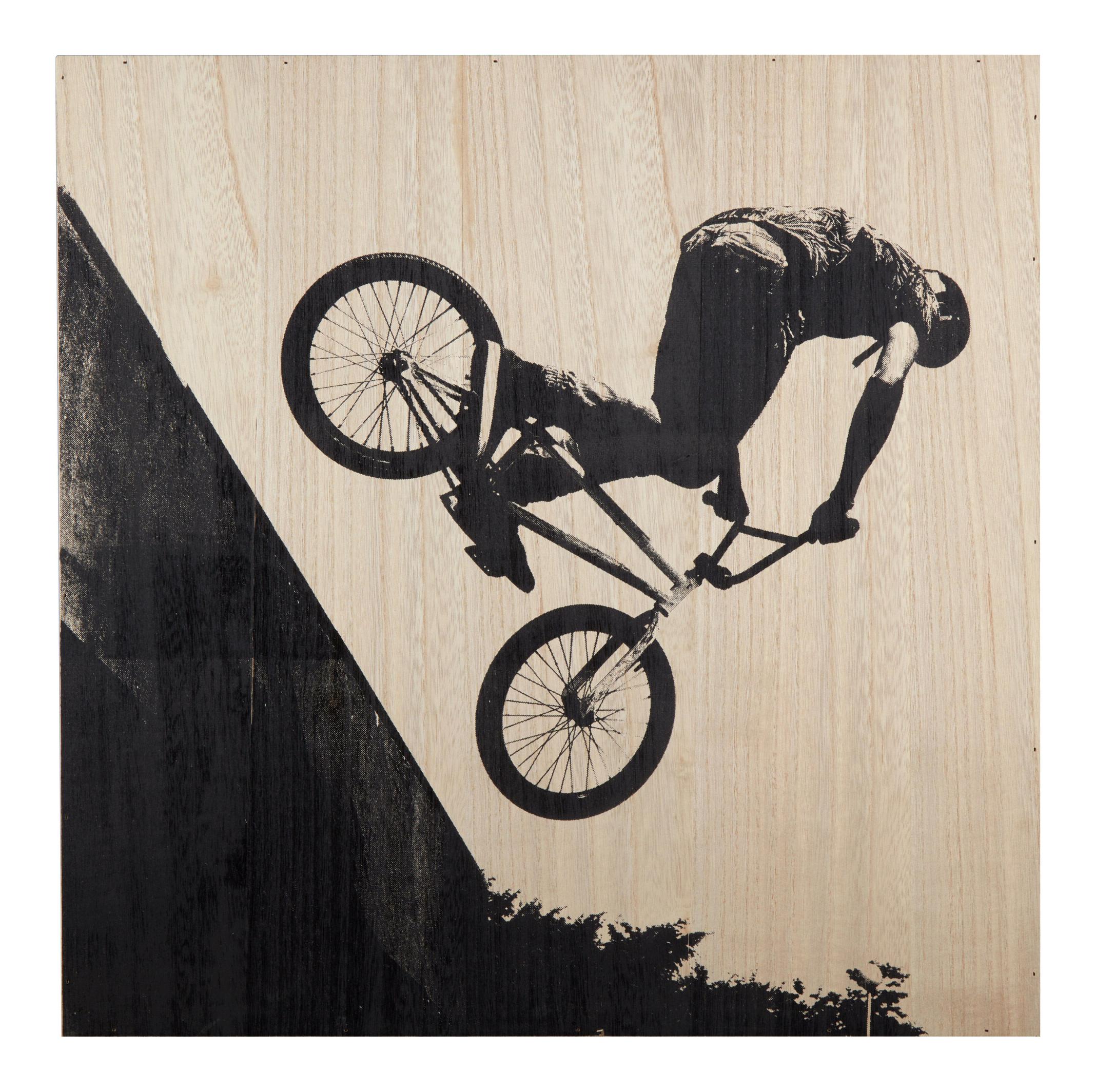 BMX Wooded Artwork