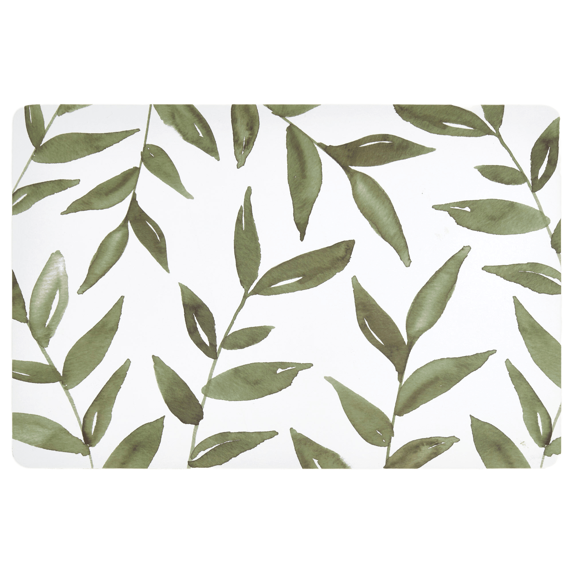 Leaf-Printed Placemat