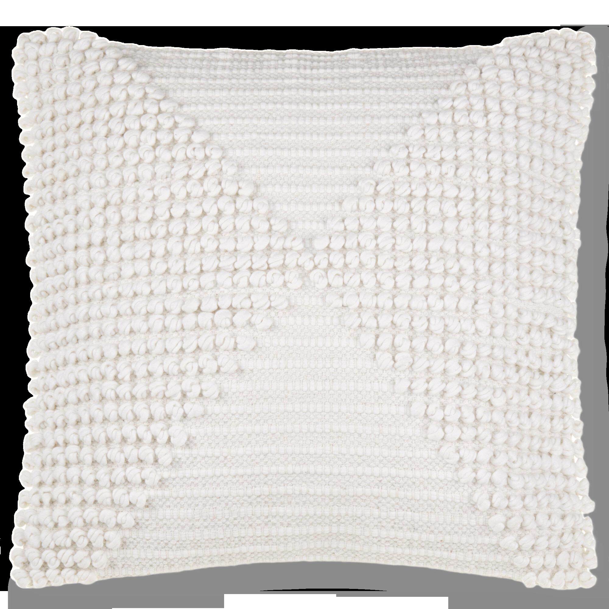 """Zandra Decorative Tassel & Knots Pillow 19"""" x 19"""""""