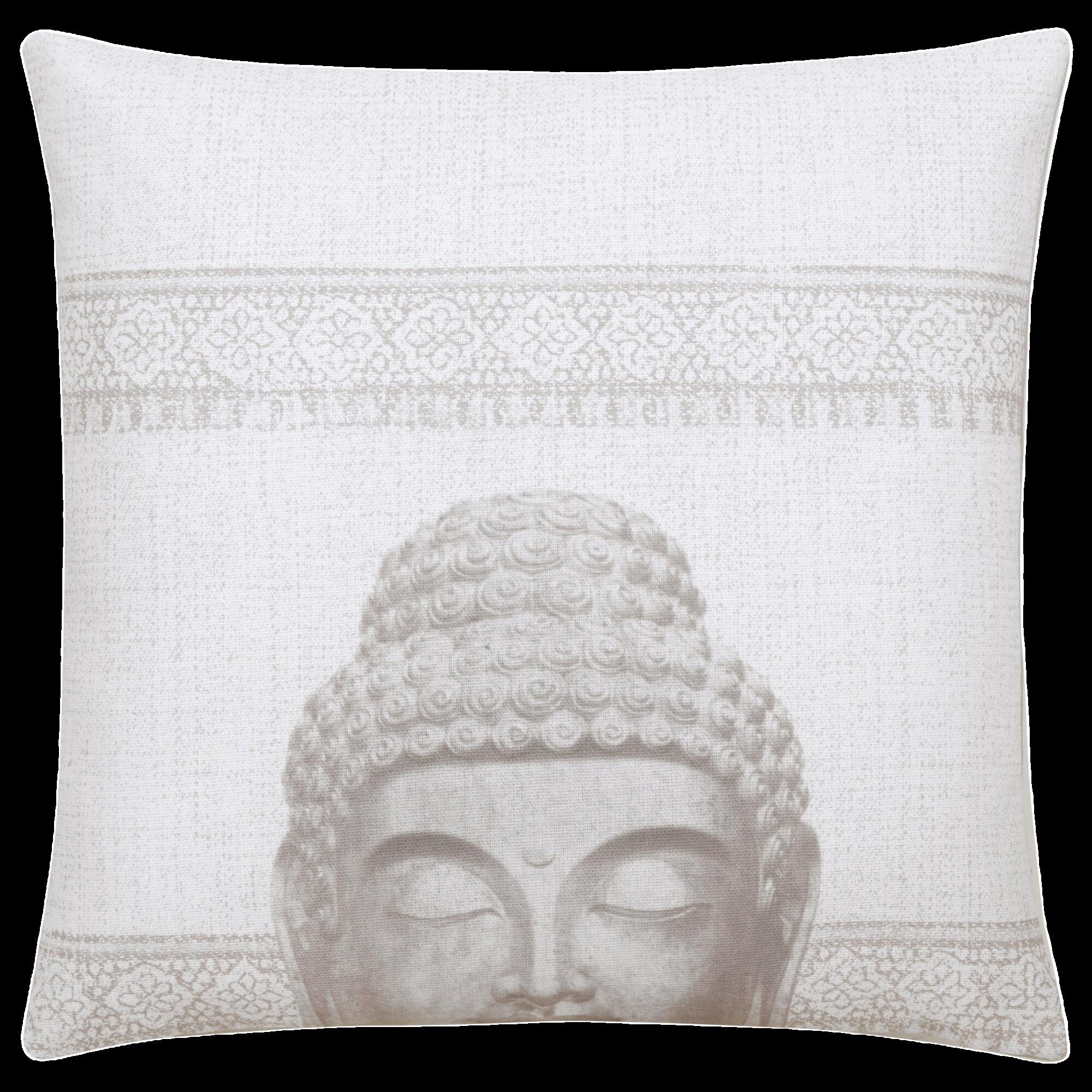 "Buddha Decorative Pillow Cover 18"" x 18"""