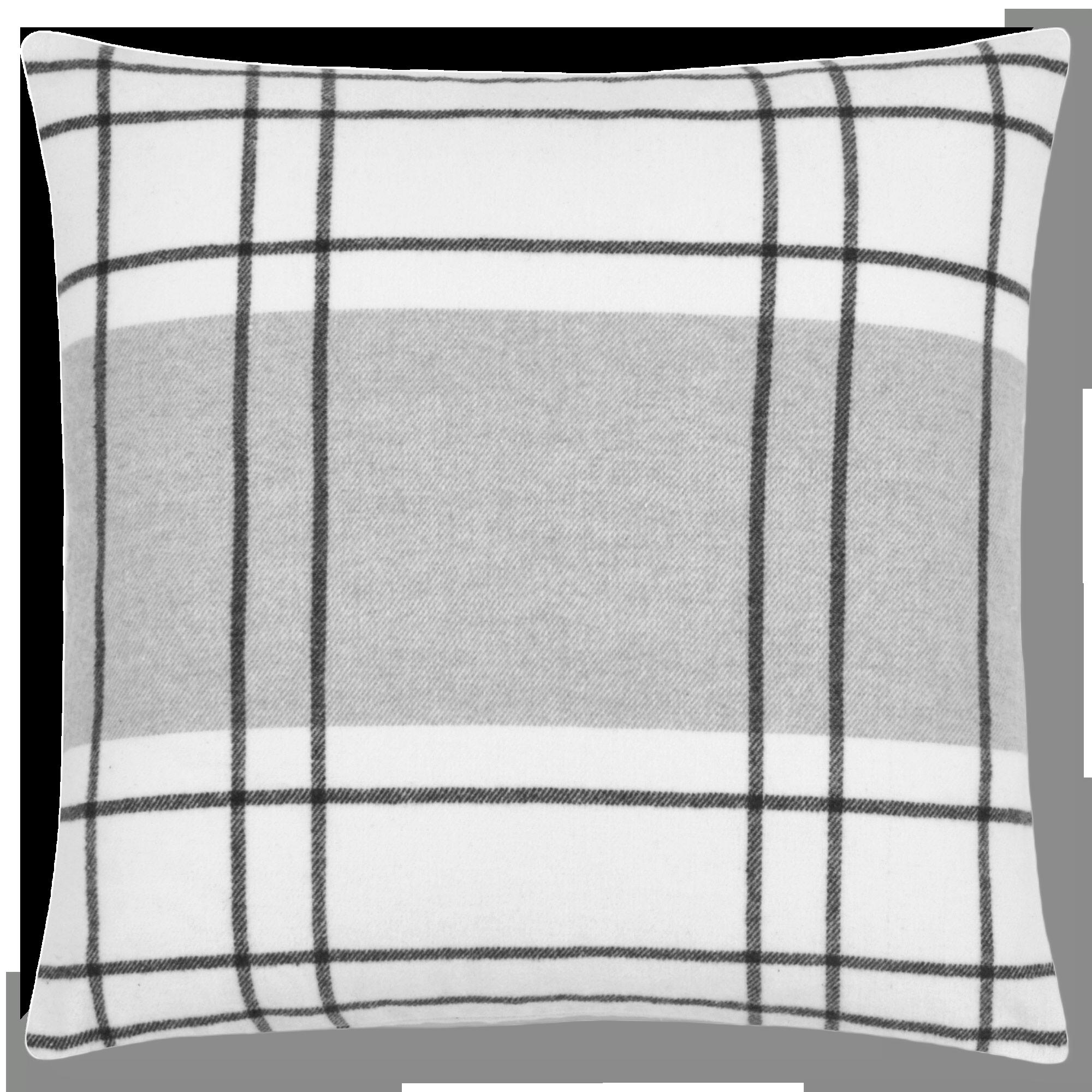 "Arvid Decorative Plaid Pillow 20"" x 20"""