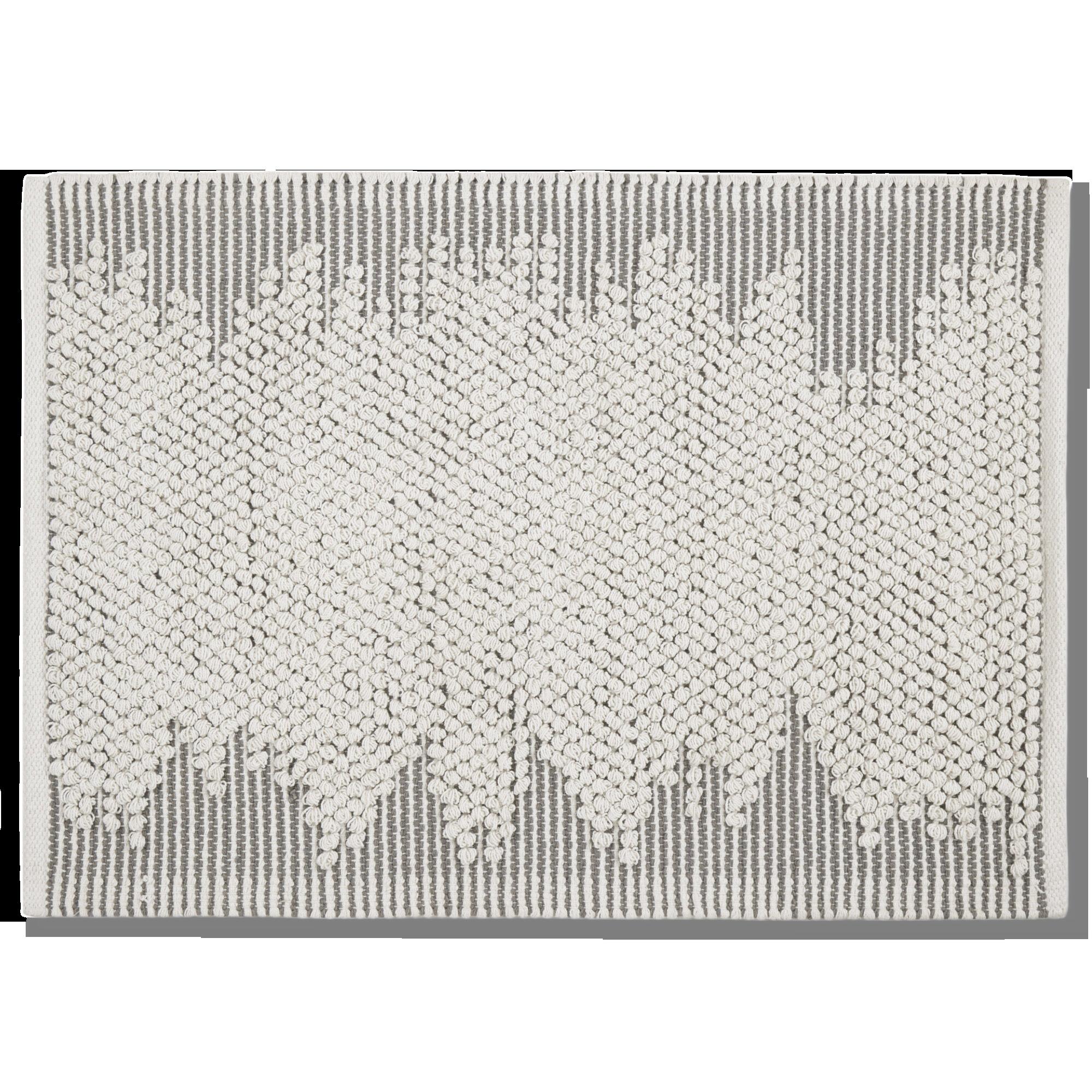 Tham Natural & Grey Textured  Rug