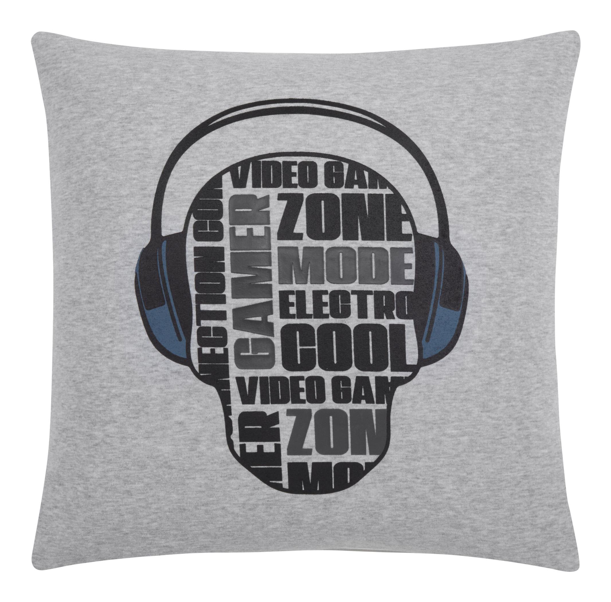 """Vico Headphones Decorative Pillow 18"""" x 18"""""""