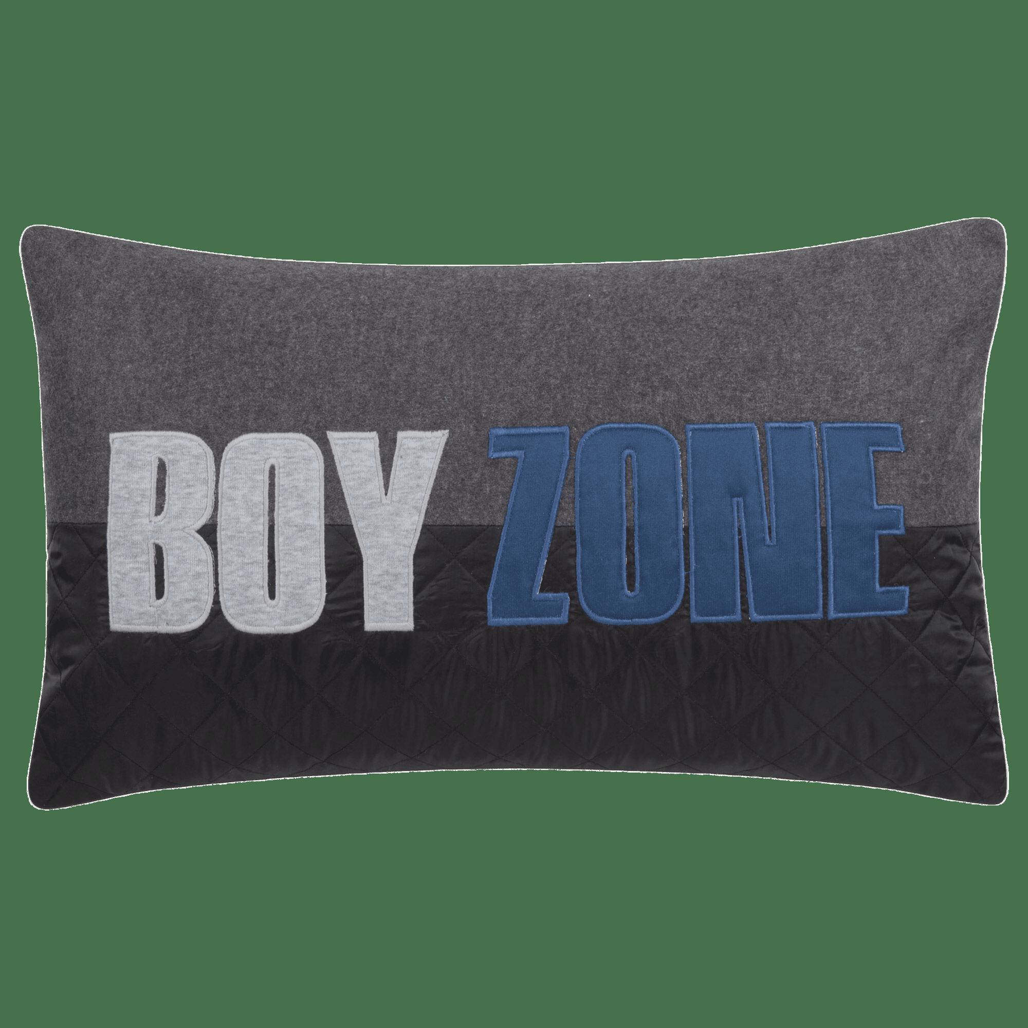 """Boy Zone Decorative Lumbar Pillow 13"""" X 22"""""""