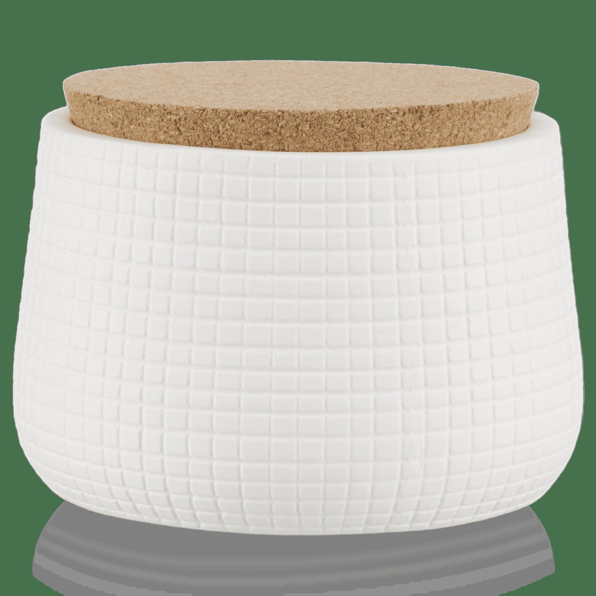 Ceramic Jar with Cork Lid