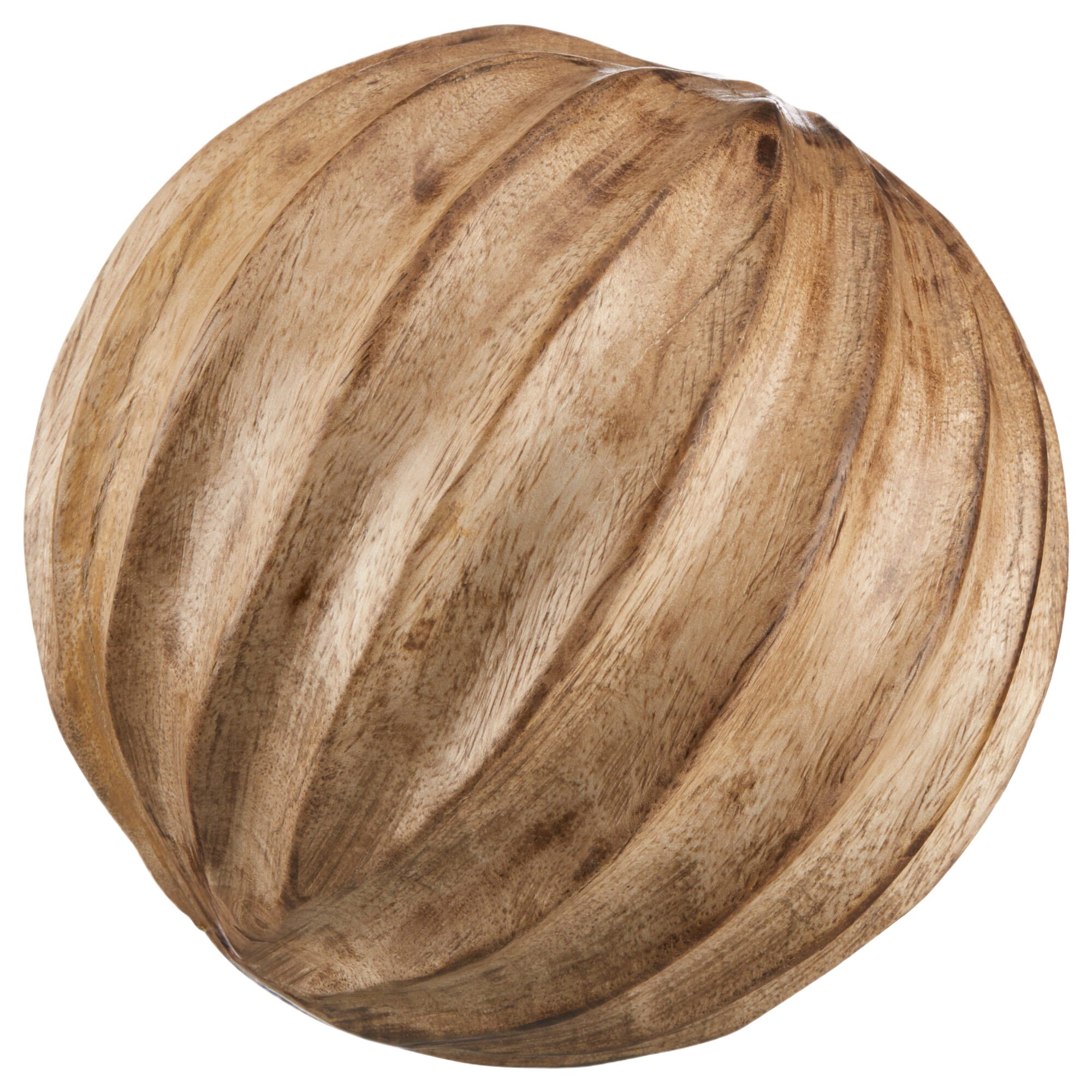 Carved Decorative Wooden Ball